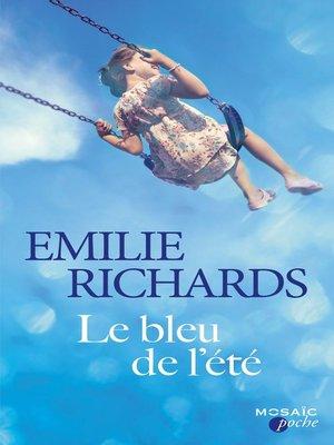 cover image of Le bleu de l'été