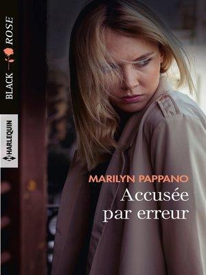 cover image of Accusée par erreur