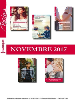 cover image of 10 romans Passions + 1 gratuit (n°685 à 689--Novembre 2017)