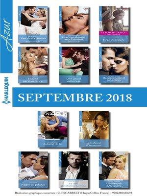 cover image of 11 romans Azur + 1 gratuit (n°3993 à 4003--Septembre 2018)