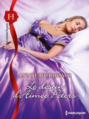 cover image of Le destin d'Aimée Peters