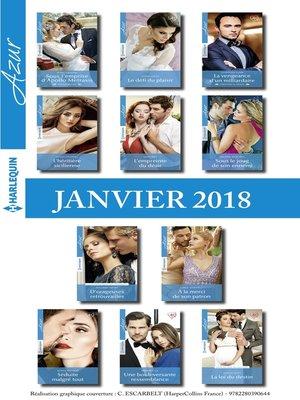 cover image of 11 romans Azur + 1 gratuit (n°3905 à 3915--Janvier 2018)