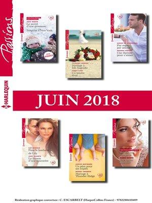 cover image of 12 romans Passions (n° 725 à 730--Juin 2018)