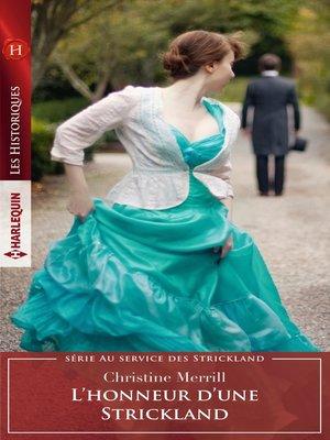 cover image of L'honneur d'une Strickland