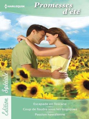 cover image of Promesses d'été