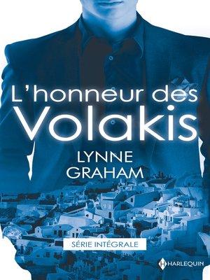 cover image of L'honneur des Volakis