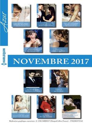 cover image of 10 romans Azur + 1 gratuit (n°3885 à 3894-Novembre 2017)