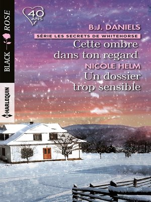 cover image of Cette ombre dans ton regard--Un dossier trop sensible