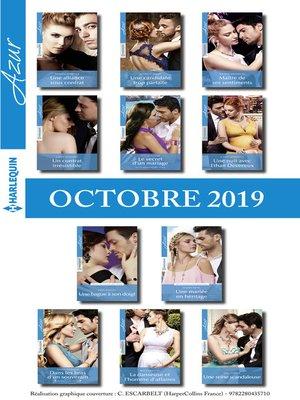 cover image of 11 romans Azur (n°4136 à 4146--Octobre 2019)