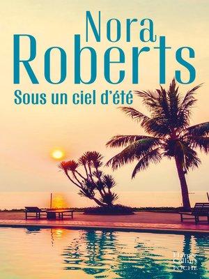 cover image of Sous un ciel d'été