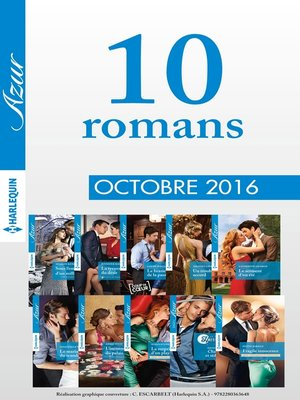 cover image of 10 romans Azur (n°3755 à 3764--Octobre 2016)