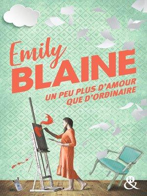 cover image of Un peu plus d'amour que d'ordinaire