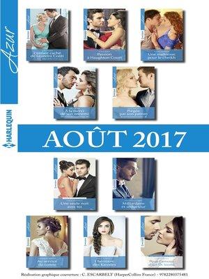cover image of 10 romans Azur + 1 gratuit (n°3855 à 3864--Aout 2017)