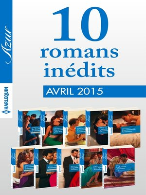 cover image of 10 romans Azur inédits (n°3575 à 3584--avril 2015)