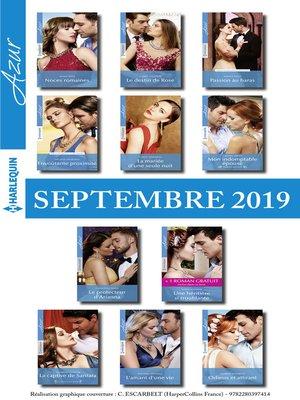 cover image of 11 romans Azur + 1 gratuit (n°4125 à 4135--Septembre 2019)