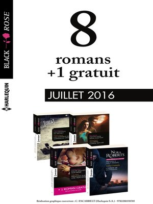 cover image of 8 romans Black Rose + 1 gratuit (n°392 à 395--Juillet 2016)
