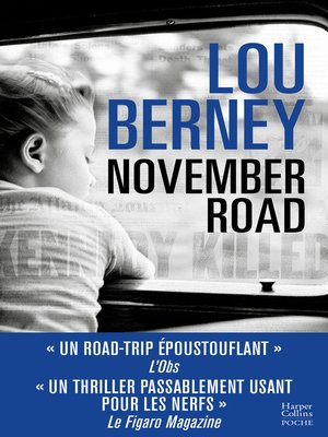 cover image of November Road (version française)