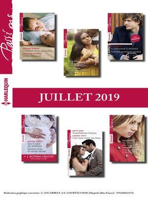 cover image of 12 romans Passions + 1 gratuit (n°803 à 808--Juillet 2019)