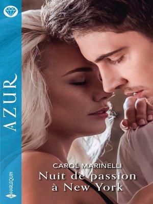 cover image of Nuit de passion à New York