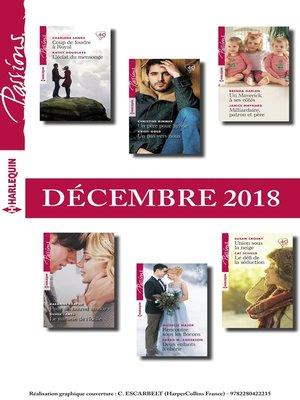 cover image of 12 romans Passions (n°761 à 766--Décembre 2018)