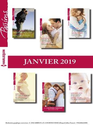 cover image of 12 romans Passions + 1 gratuit (n°767 à 772--Janvier 2019)
