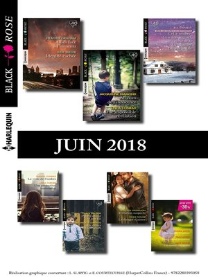 cover image of 15 romans Black Rose (n°481 à 485--Juin 2018)