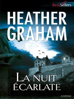 cover image of La nuit écarlate
