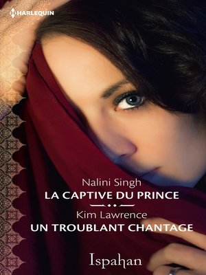 cover image of La captive du prince--Un troublant chantage
