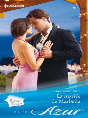 cover image of La mariée de Marbella