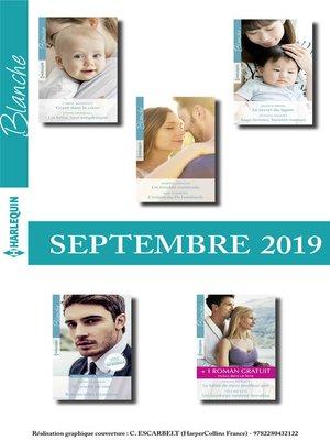 cover image of 10 romans Blanche + 1 gratuit (n°1446 à 1450--Septembre 2019)