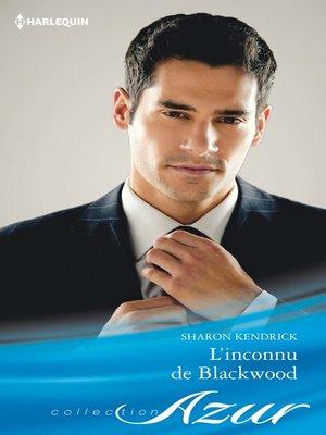 cover image of L'inconnu de Blackwood