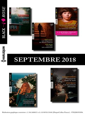 cover image of 10 romans Black Rose + 1 gratuit (n° 495 à 499--Septembre 2018)