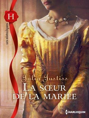 cover image of La soeur de la mariée