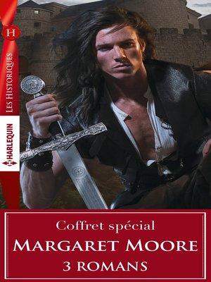 cover image of Coffret trois romans de Margaret Moore