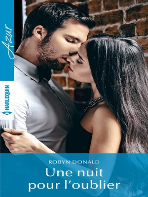 cover image of Une nuit pour l'oublier