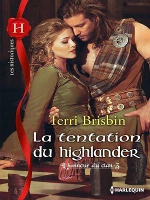 cover image of La tentation du highlander