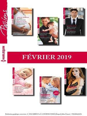 cover image of 12 romans Passions (n°773 à 778--Février 2019)