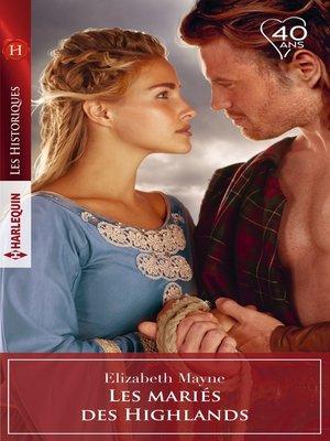 cover image of Les mariés des Highlands