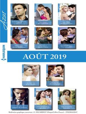 cover image of 11 romans Azur + 1 gratuit (n°4114 à 4124--Août 2019)
