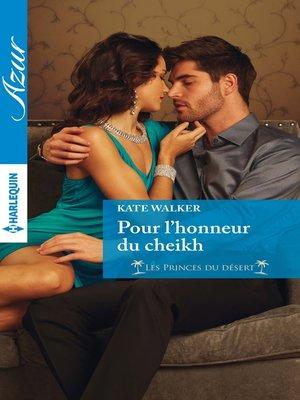 cover image of Pour l'honneur du cheikh