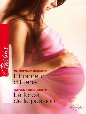 cover image of L'honneur d'Elena--La force de la passion