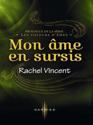 cover image of Mon âme en sursis