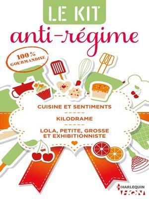 cover image of 3 romances 100 % gourmandises