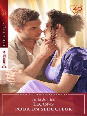 cover image of Leçons pour un séducteur