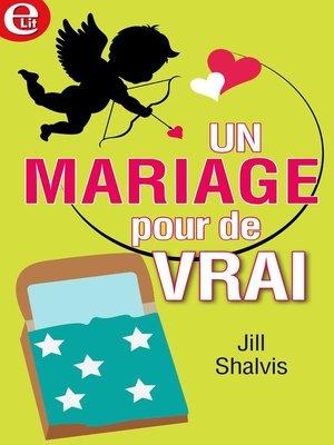 cover image of Un mariage pour de vrai