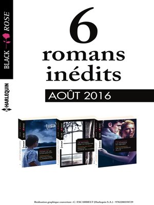 cover image of 6 romans Black Rose (n°396 à 398--Août 2016)
