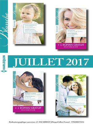 cover image of 8 romans Blanche + 2 gratuits (n°1322 à 1325--Juillet 2017)