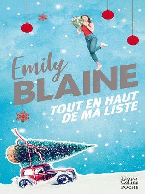 cover image of Tout en haut de ma liste