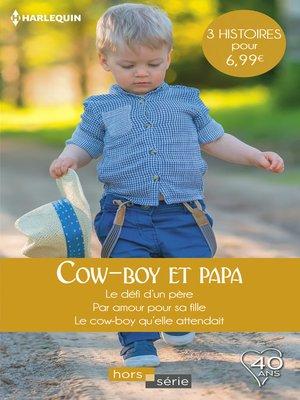 cover image of Cow-boy et papa