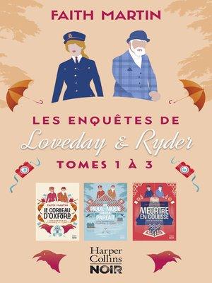 cover image of Les enquêtes de Loveday & Ryder